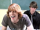 An 18 years old cutie twink gives his tight asshole to teacher