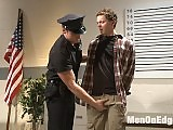 The guy gets arrested and then cruelly anal fucked