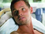 Actor Justin Chambers shirtless & sexy movie scene