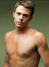Jonathan Bennett shirtless vidcaps