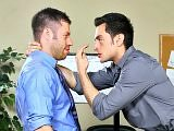 Men hard at work sex goes wild with butt bangs hot