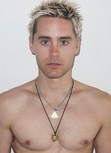 Male celebrity Jared Leto paparazzi shirtless pics