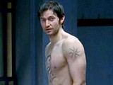 Richard Armitage nude in a bathroom
