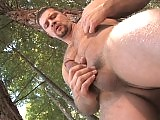 Vinnie D Angelos comes out of his cabin