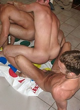 Naked Frat Guys Partying