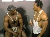 Strong mature black men blowjob and rimming