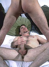 Hairy chested mature and college knight having fun