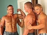 Two blond hunks Marcus Mojo and Brady Jensen fuck