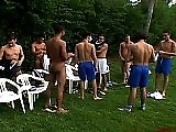 Gay Latin Soccer players getting it on