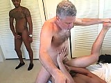 Amateur guy gets his ass ripped apart by big dicks