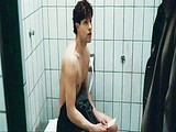 Actor Olivier Barthelemy caught naked in a toilet