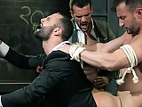 Office boss gets his ass ripped apart doggystyle