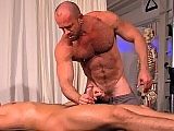 Alex Graham fucks his older hairy lover so hard
