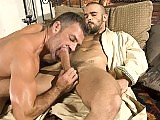 Bruno gets Damiens cock all wet sucking deeply