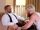 Bennett Anthony fucks the older gay Dirk Caber