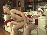 Old Santa fucks a young boy's ass on Xmas Eve on School Boy Secrets