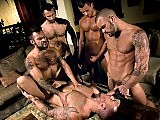 The pure star power in this orgy video is too much