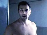 Male celebrity Adrian Paul shows amazing bare ass