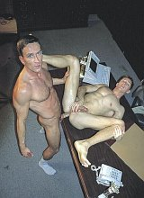 Muscle mature boss screwing a nice clerk in office