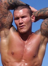 Male celebrity Randy Orton nude and underwear pics