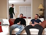 Guy fucked by the stepdad and his older friend