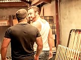 Muscle gay bears Jessy Ares and Ricky Ares assfuck