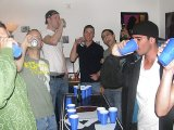 Freaky and eager frat dudes playing betting game!