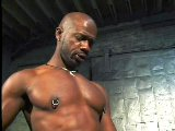 Two black dudes make brutal anal porn in dungeon
