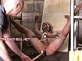 Toby is bound naked punished and subjected to bondage