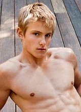 Alexander Ludwig shirtless and underwear photos