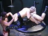 Three way train action and a white hot climax