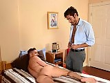 The gay teacher Dale Cooper fucks a student in bed