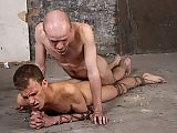 In an onslaught of anal abuse Kieron does a bit of toy play to loosen Leo up