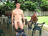 Young looking str8 jock gets screwed by the hunter