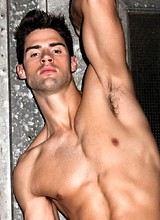 Male celebrity Chad White poses nude and underwear