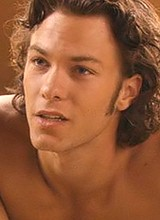 Kyle Schmid shirtless and sexy caps