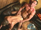 Latin mature muscle and euro hunk blowjob and fuck