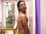 Male celebrity Jake Canuso caught all nude outdoor