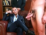 Mike De Marko gets ass fucked by the group of men