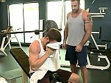 Muscle gay coach Spencer Reed fucks Tommy Defendi