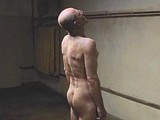 Ulrich Muhe flashes great cock and ass in a shower