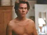 Kevin Bacon shirtless in sexy pants