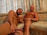 Oliver uses his tongue and fingers to prepare Marcus's gay ass and soon he slips his wet dick into it, going straight to the hilt, slapping his balls against his ass.