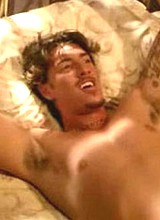 Male celebrity Eric Balfour exposes his huge cock