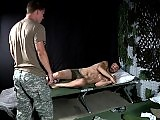 The soldier Tommy Defendi gets abused doggy style