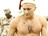 Male celebrity Jake Gyllenhaal flashes bare butts