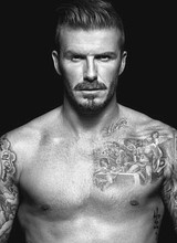 Male celebrity David Beckham nude & underwear pics