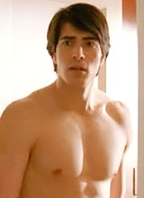 Brandon Routh shirtless movie scene