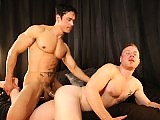 Bigcocked Rafael Alencar fucks a guy deep and hard