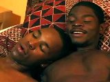 Two black men with long cocks sweet anal